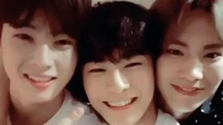 [ASTRO] 🐙아스트로 다코야끼 3인방 등장🐙 (So cute ASTRO)