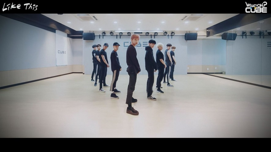 펜타곤 - 'Like This' (Choreography Practice Video)