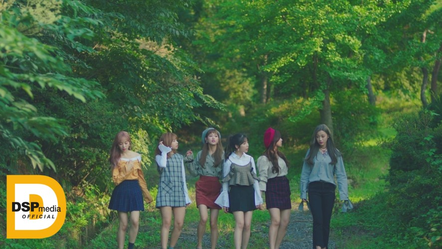 """APRIL(에이프릴) - """"손을 잡아줘"""" MV Trailer"""