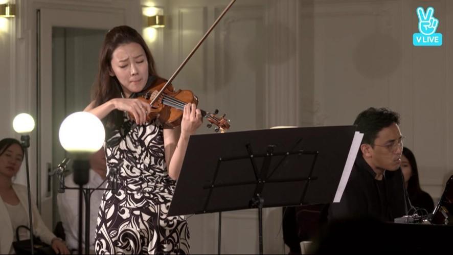 김정원의 V살롱 [바이올리니스트 클라라 주미강] J. Brahms Violin Sonata No.1 in G major, Op.78