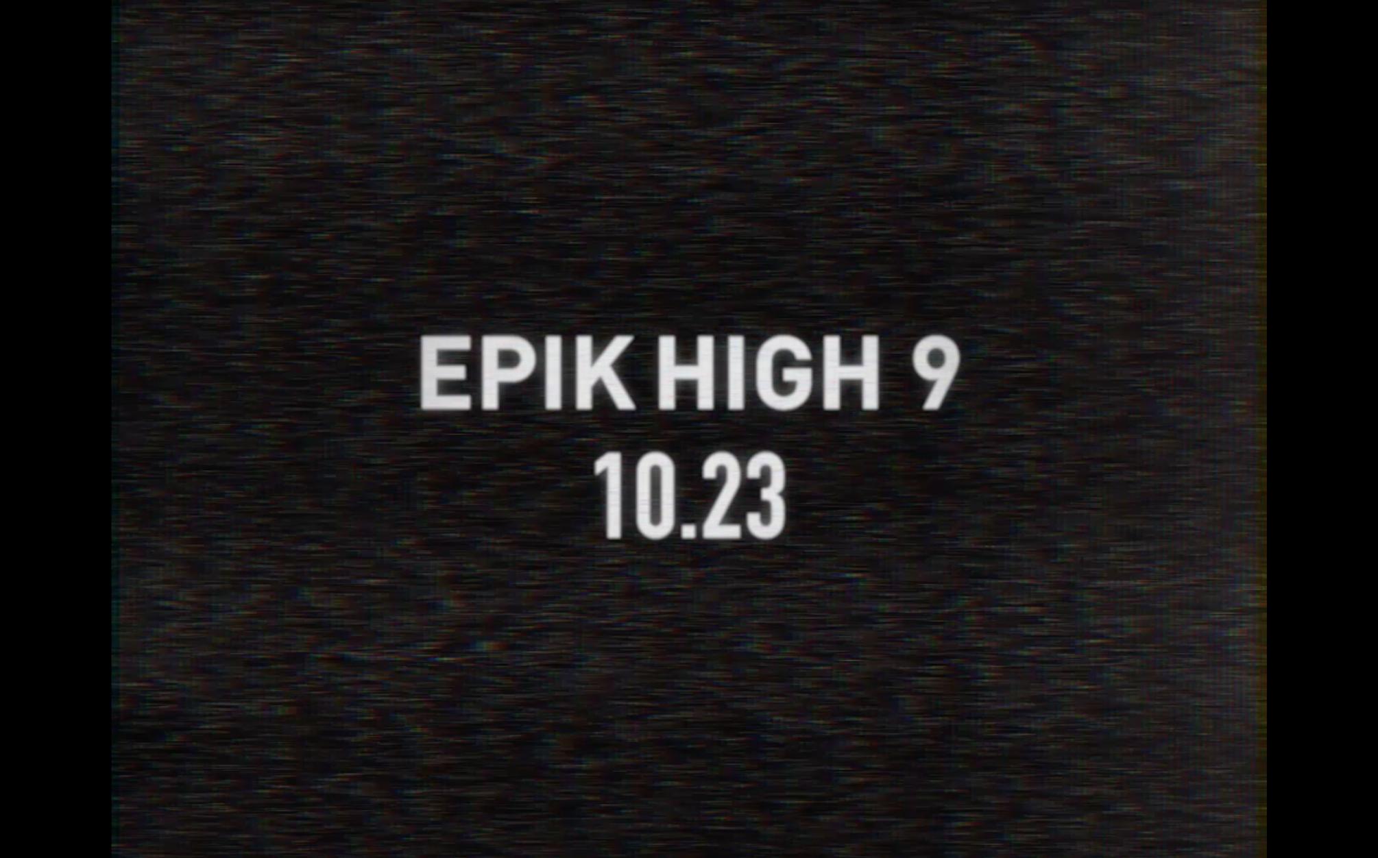 EPIK HIGH - COMEBACK FILM (BGM: Philip Glass - 'Etude no.2')