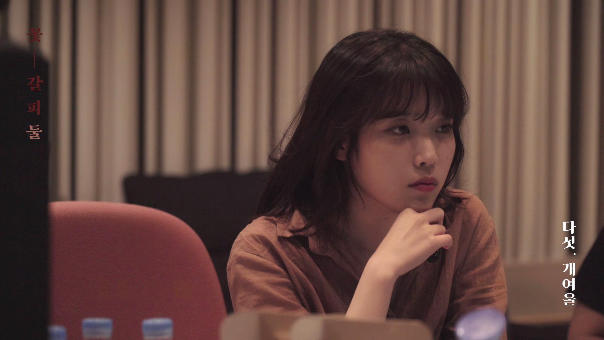 IU(아이유) : [BEHIND] '꽃갈피 둘(Kkot-Galpi #2)' Album Recording