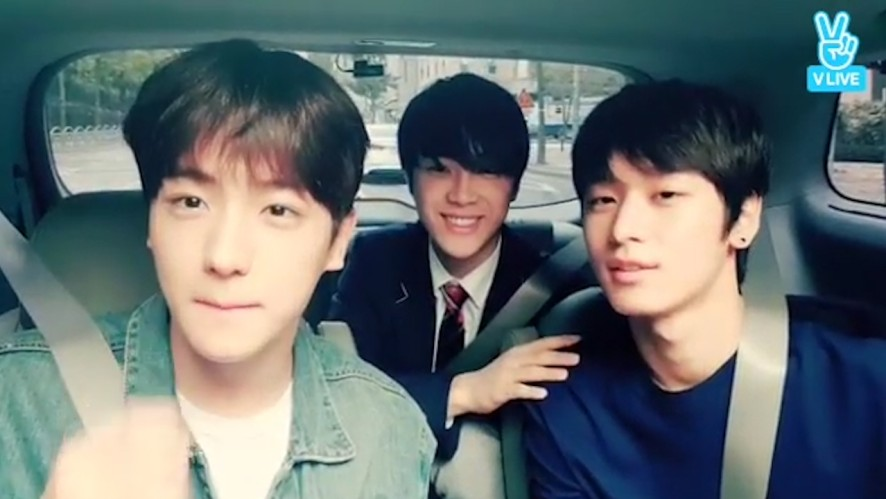 [THE BOYZ] 오늘부터 내 소울푸드는 치킨 양념갈비 냉면 쌀국수 (Hyunjae&Juyeon picking up Haknyeon)