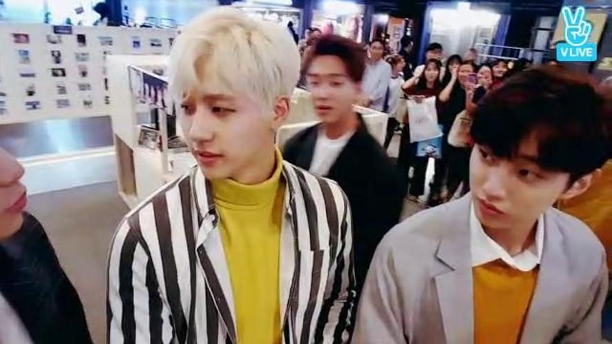 B1A4가 팝업스토어에 나타났다!!!