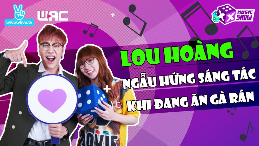 """[XXMS] Tập 7: Lou Hoàng ngẫu hứng sáng tác khi đang ăn """"gà rán một mình"""" tại show"""