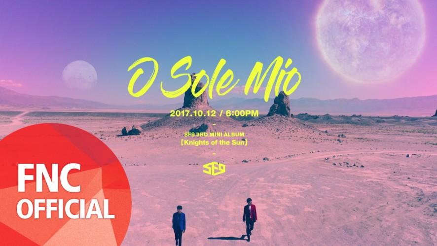 SF9 - 오솔레미오(O Sole Mio) M/V Teaser#1 Solar Signal #1