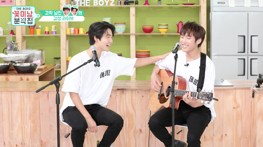 [Unreleased Ep.7] 더보이즈 '꽃미남 분식집' (THE BOYZ 'Flower Snack')