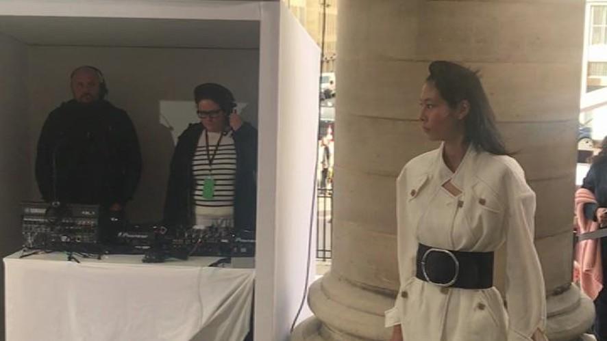 L'Officiel Italia at Paris Fashion Week Women SS 18 - Véronique Leroy - RUNWAY