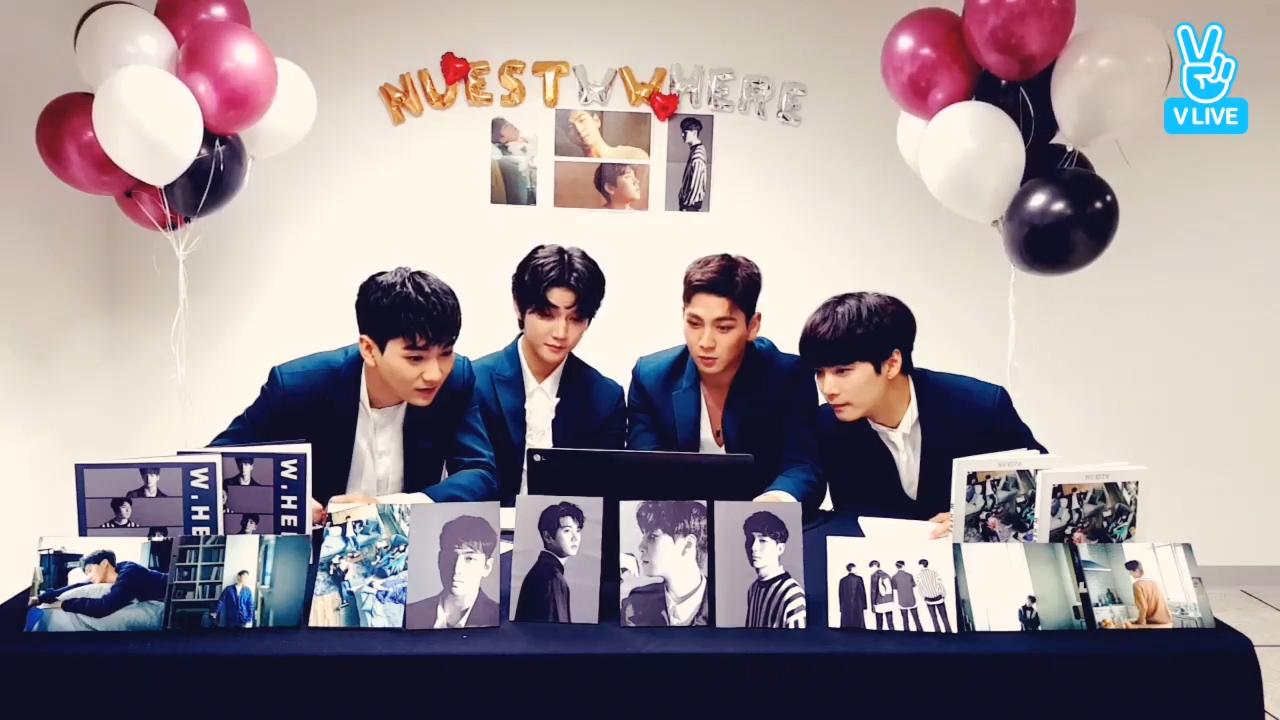 [NU'EST W] 🎈너무 신나서 풍선도 계속 돌아버리는 뉴블이들의 새앨범이 나왔어요!!🎈 (NU'EST W releasing a new album)