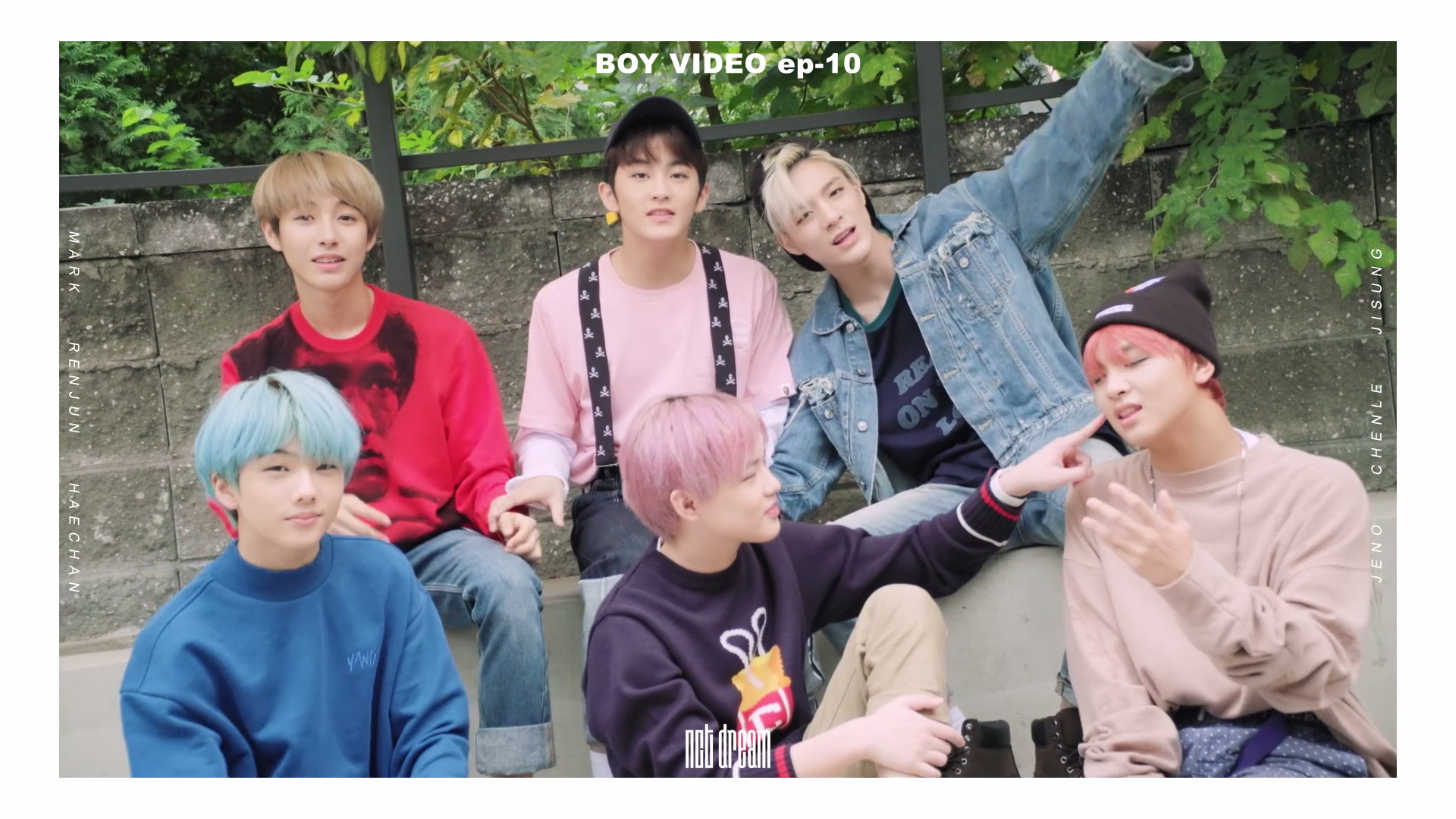 NCT DREAM BOY VIDEO EP.10