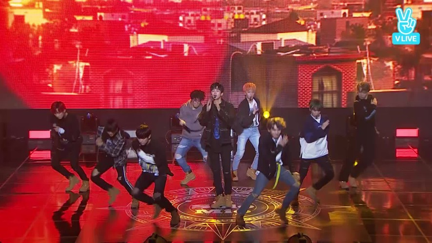 왜이래 - SF9 Comeback Showcase [ O Sole Mio ]