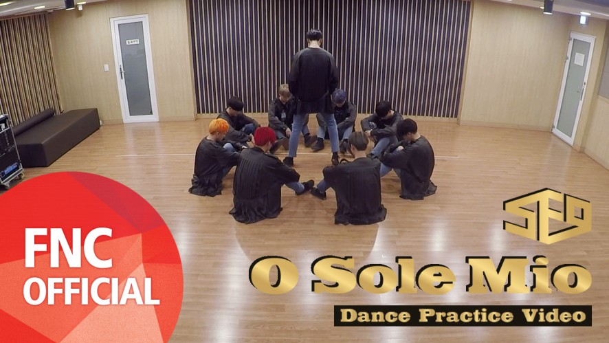 SF9 - 오솔레미오(O Sole Mio) 안무 연습 영상(Dance Practice Video) Full Ver.