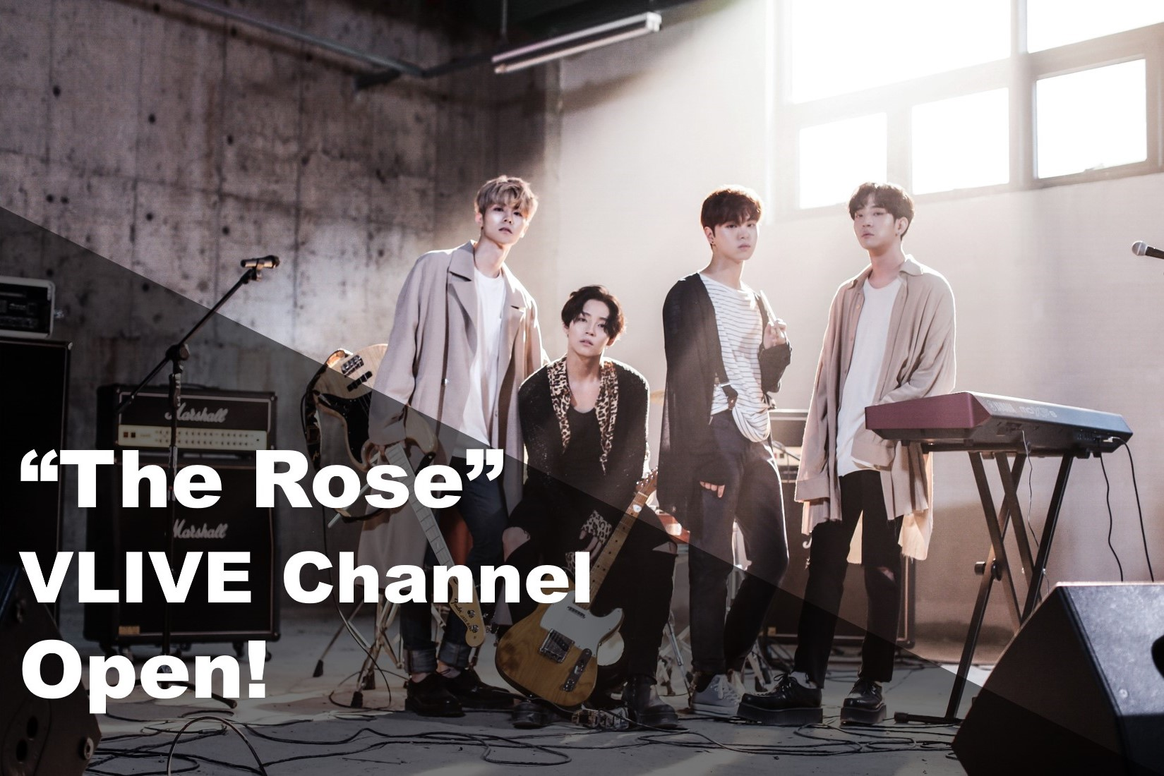 The Rose VLIVE Open 인사