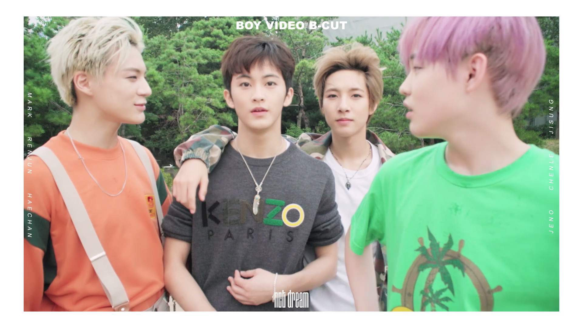 NCT DREAM BOY VIDEO B-CUT #2
