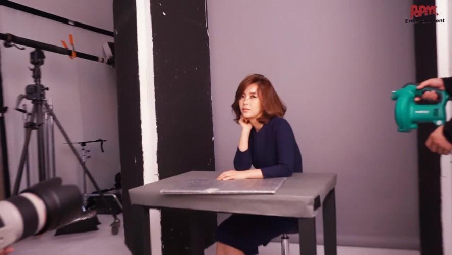 가을 향기 물씬 나는 배우 신은정의 뷰티 화보 촬영 현장 메이킹♥