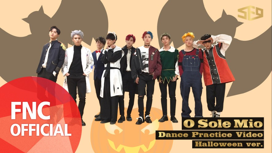 SF9 - 오솔레미오(O Sole Mio) 안무 연습 영상 (Dance Practice Video) Halloween Ver.