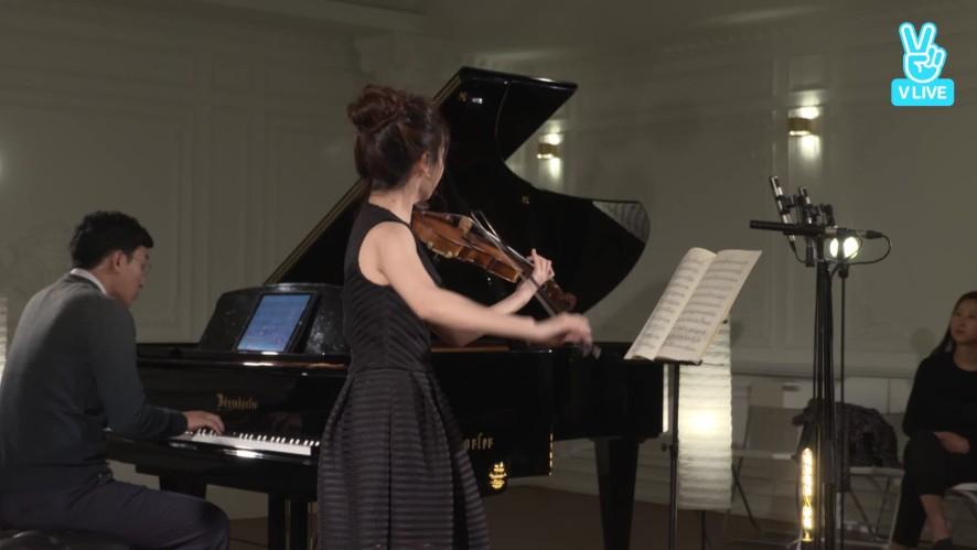 """[V살롱] 김정원X 김봄소리 """"모차르트 / 피아노와 바이올린을 위한 소나타 제21번 2악장 Mozart / Sonata for Piano and Violin No.21  """""""