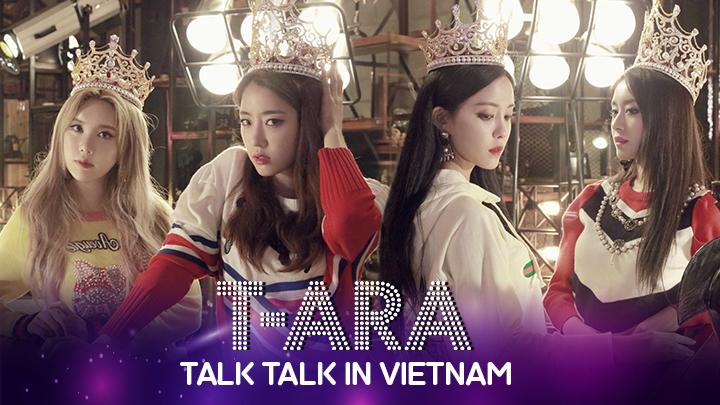 T-ARA TALK TALK in Vietnam