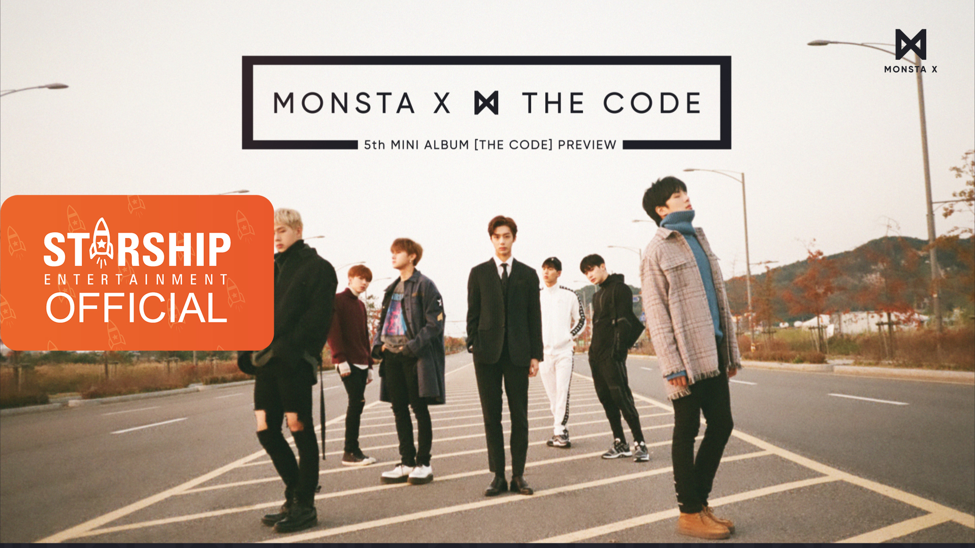 [Preview] 몬스타엑스 (MONSTA X) - THE 5th MINI ALBUM 'THE CODE'