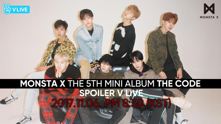 [MONSTA X] THE 5TH MINI ALBUM <THE CODE> SPOILER