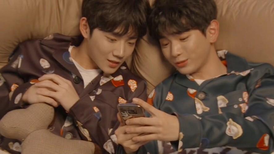 [형섭X의웅] 기억해, 복도에서 떠들다 같이 혼나던 섭웅💓 (HyeongSeop&EuiWoong talking about memories)