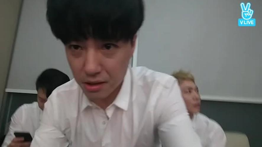 mnet 엠카 무대 끝나고