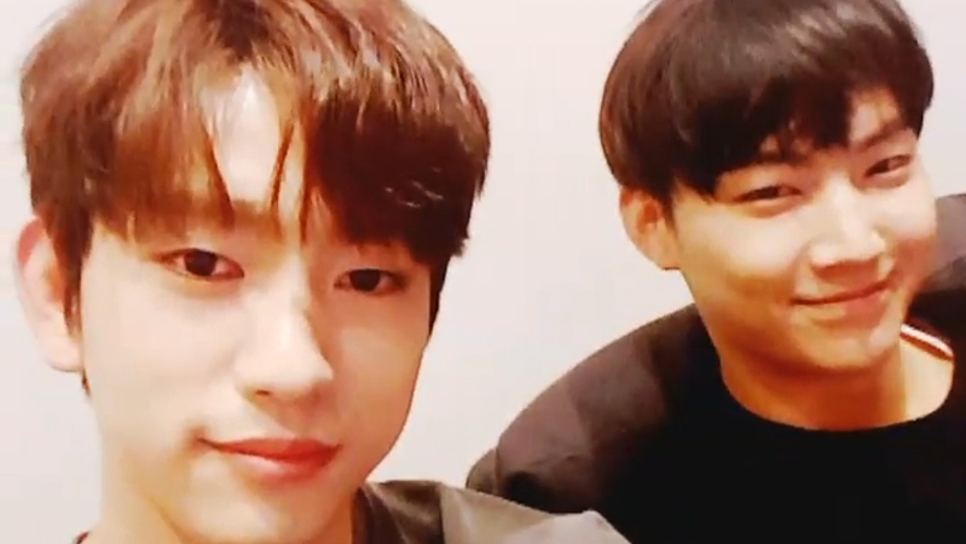 [GOT7] 마지막 뽐녕데이를 보며 갓흐흑 칠르륵 하고 웁니다,,(JB&Jinyoung's GOT2DAY)
