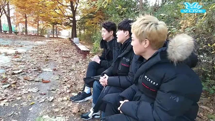 SBS 인기가요 끝나고 ... 즉석 팬미팅 ...