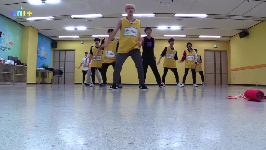 유닛B 노랑조 / 마이턴 연습 FULL CAM ver. [Choreographypractice of 'My Turn' (Boys-Yellow)