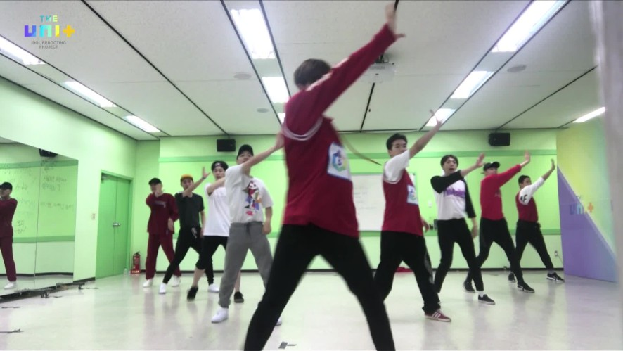 유닛B 빨강조 / 마이턴 연습 FULL CAM ver. [Choreographypractice of 'My Turn' (Boys-Red)