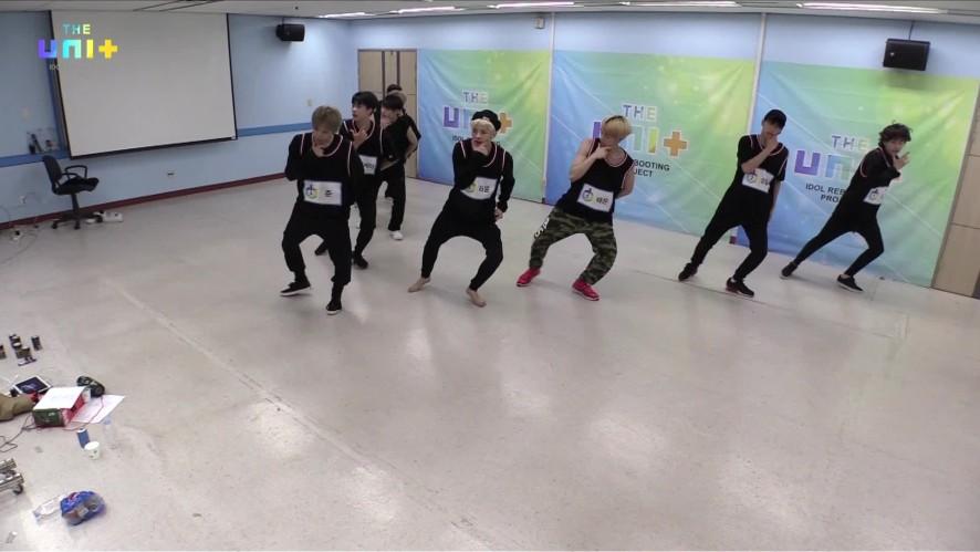 유닛B 검정조 / 마이턴 연습 FULL CAM ver. [Choreographypractice of 'My Turn' (Boys-Black)