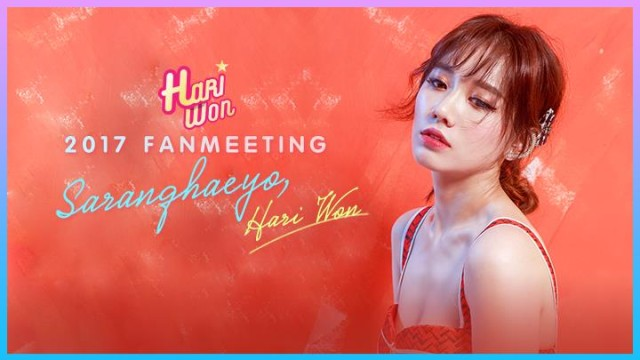 Hari Won's Fan Meeting