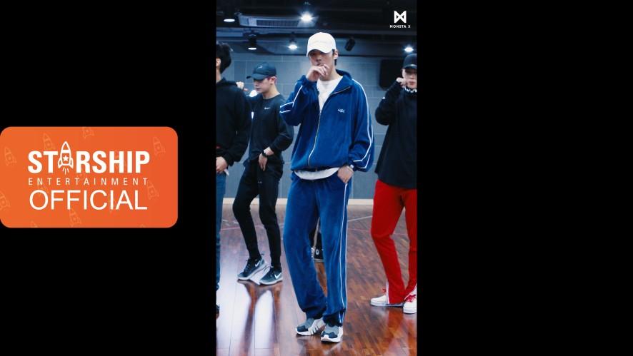 [MINHYUK][Dance Practice] 몬스타엑스 (MONSTA X) - 'DRAMARAMA' Vertical Video