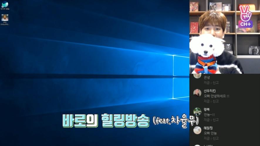 [CH+ mini replay] 바로의 힐링방송 Baro's Healing Broadcast