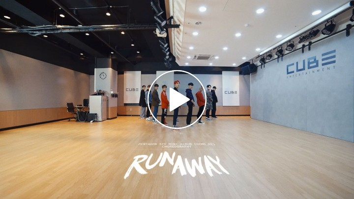 'RUNAWAY' (Choreography Practice Video)
