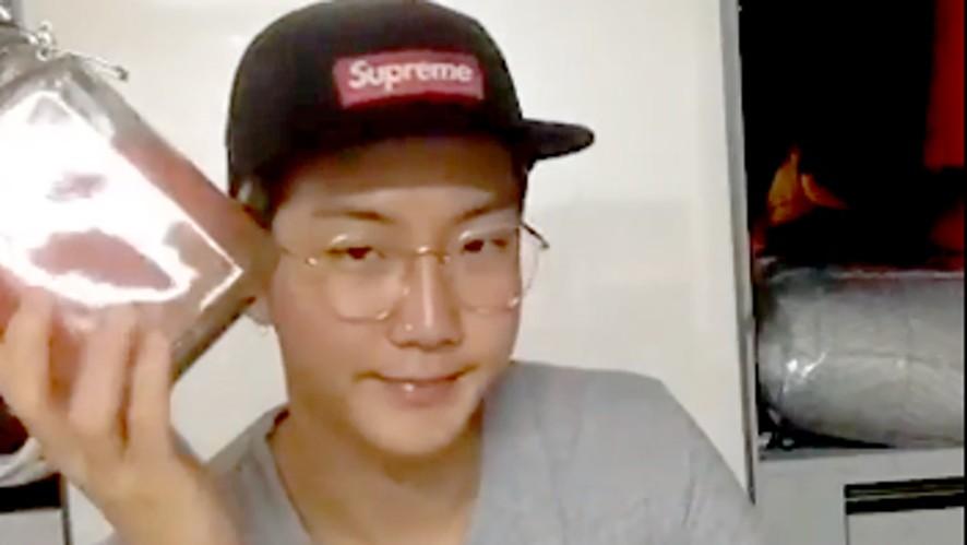 [WINNER] 자몽 3알만 있으면 어디든 갈 수 있는 안경선배 (Seunghoon making grapefruit marmalade)