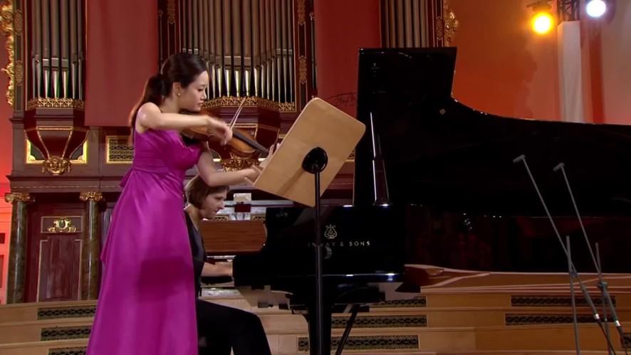 바이올리니스트 김봄소리 - 비에니아프스키 콩쿠르 실황