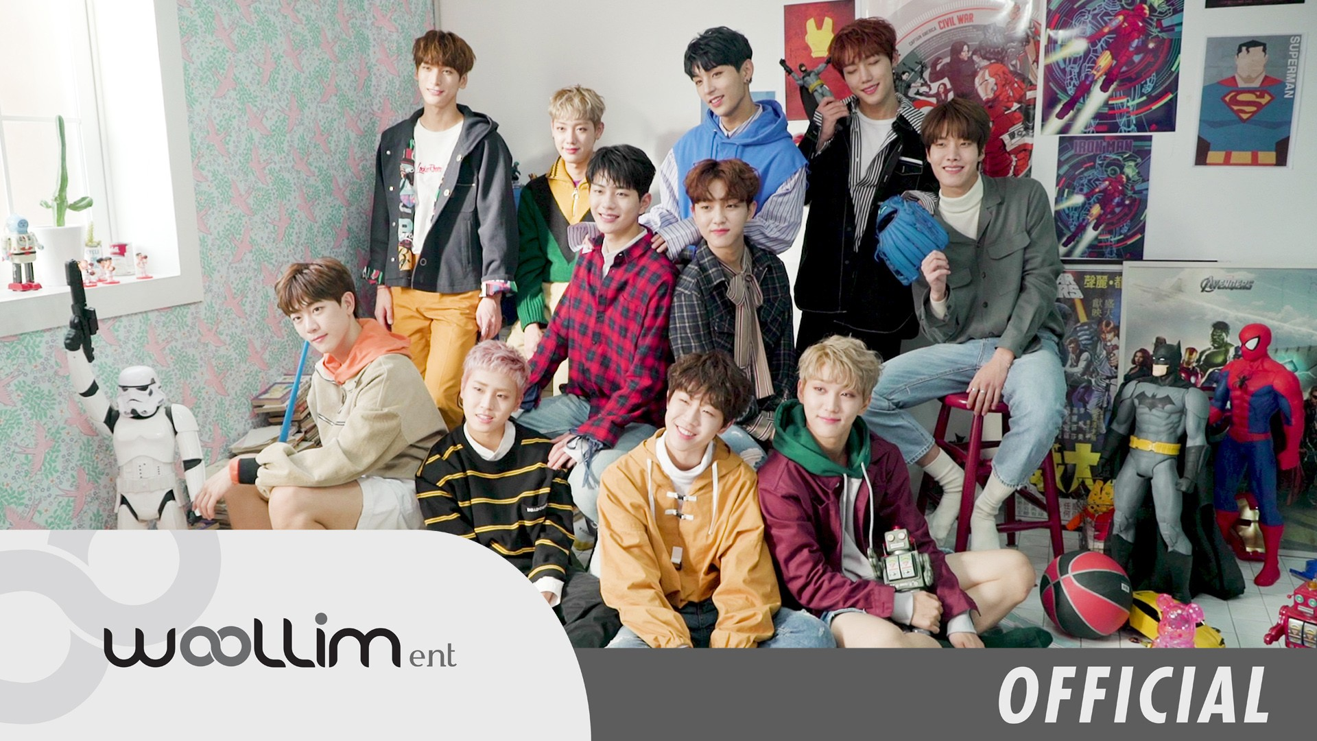 골든차일드(Golden Child) 2018 SEASON'S GREETINGS Making Video