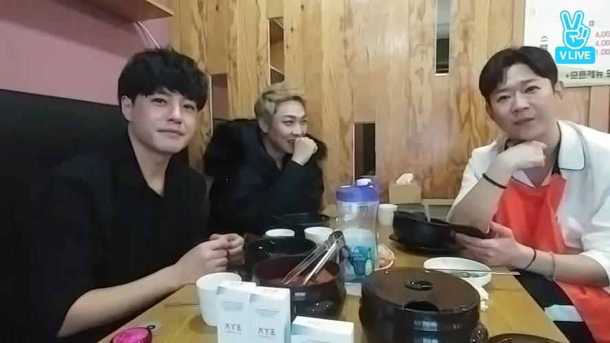 SBS MTV 방송전 먹방 ...