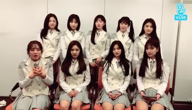 fromis_9 두근두근❤️ 데뷔 1일