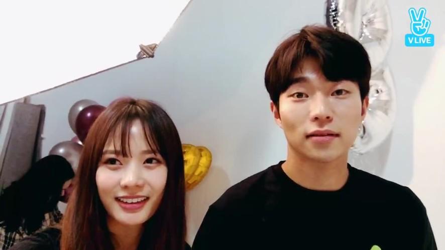 [킹엔터] 네이버 해피빈 단체촬영 현장❤️