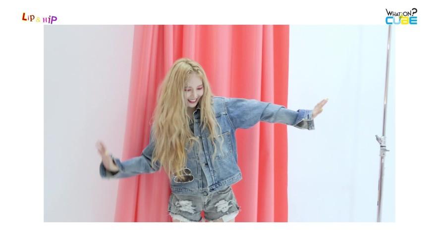 현아 - Thanx Single [Lip & Hip] 재킷 촬영 현장 비하인드