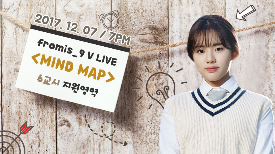 fromis_9 V LIVE <MIND MAP> 6교시 지원영역