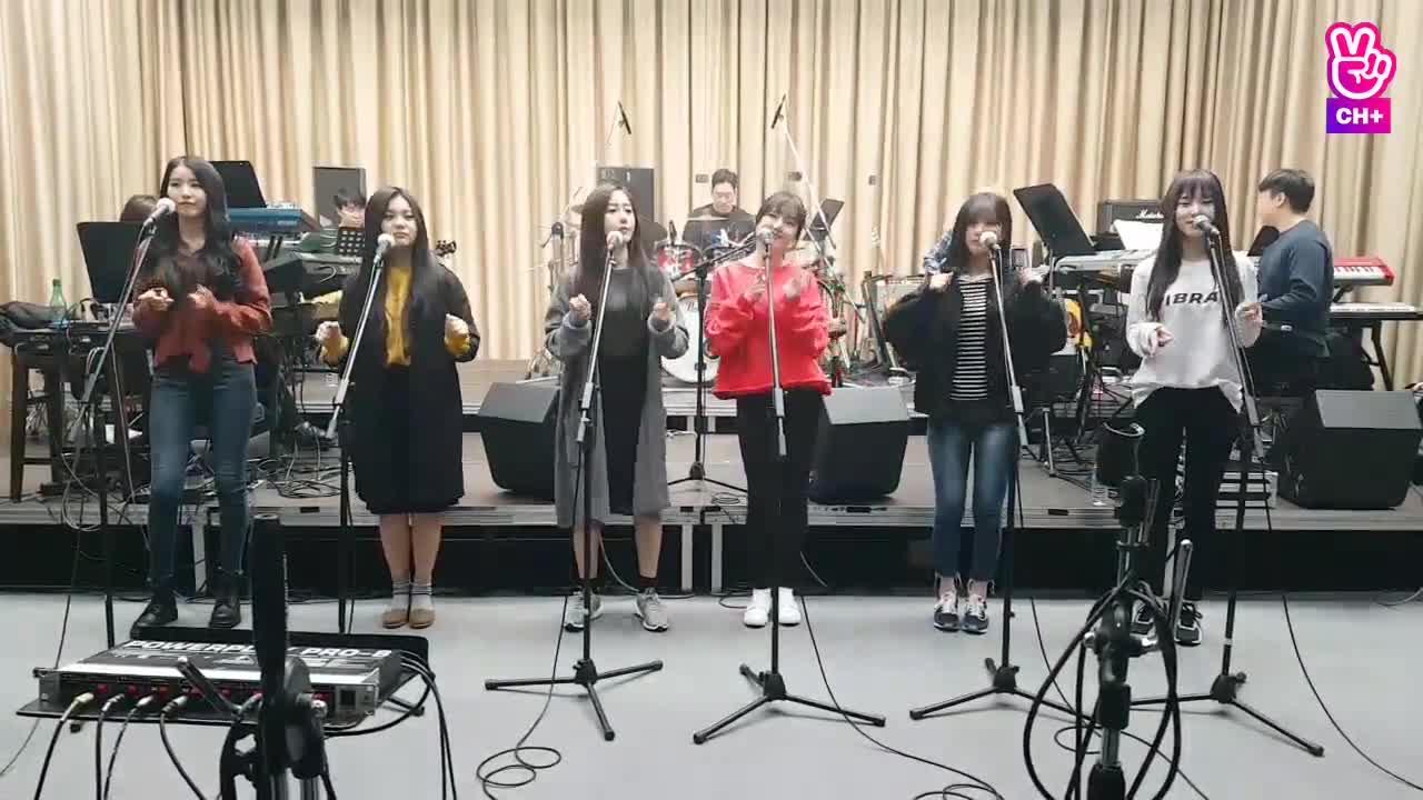 [자막용] 여자친구 콘서트 합주 연습 (오늘부터 우리는)