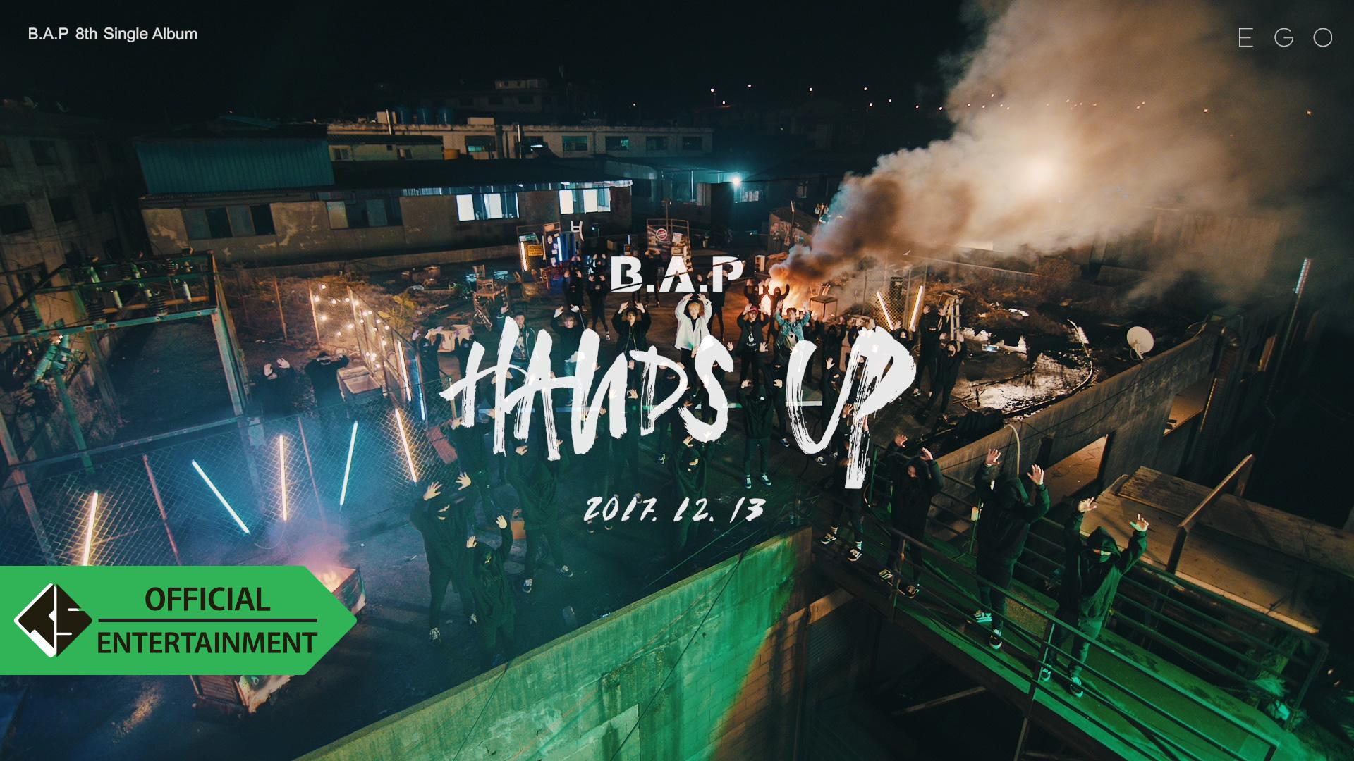 B.A.P - HANDS UP M/V Trailer