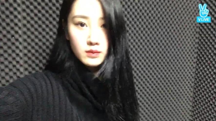 [Live]오늘같이 추운날엔 연습실..🙉