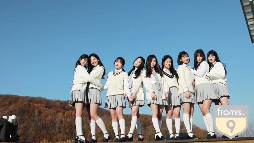 [fromis_9 TV Behind] fromis_9 (프로미스나인) - Profile Photoshoot Sketch