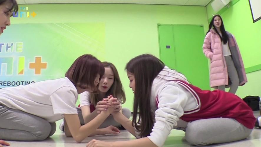 [유닛G]/ Gee 팀/ 샌디, 소야, 앤, 우희, 유정, 이보림, 지엔, 채솔, 한비 (Girls-Gee)