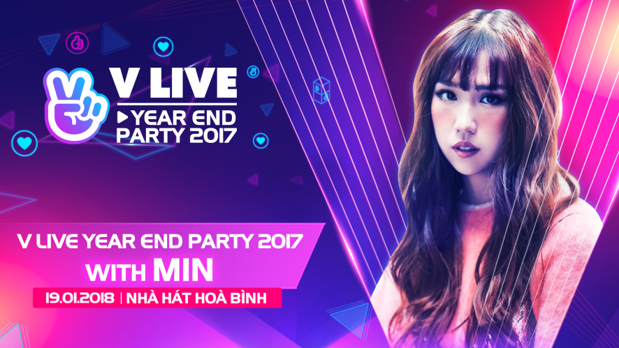 V LIVE YEAR END PARTY 2017 WITH MIN