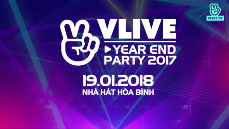 [Teaser] V LIVE YEAR END PARTY 2017